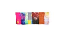 Big Silk Tiedye Scarves (Assorted Colors)