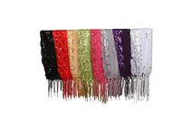 Long Sequence Scarves (Assorted Colors)