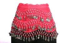 Belly Dance Belt / Scarf  (Assorted Colors)
