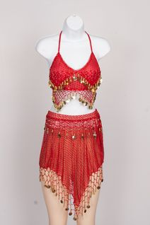 Belly Dance Set (Assorted Colors)